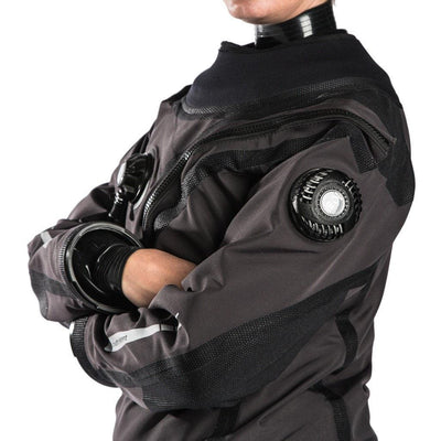 Fourth Element Argonaut 2.0 Stealth Mens Drysuit - Torso - Mike's Dive Store