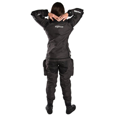 Fourth Element Argonaut 2.0 Stealth Mens Drysuit - Back - Mike's Dive Store