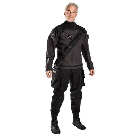 Fourth Element Argonaut 2.0 Stealth Hybrid Men's Drysuit - Mike's Dive Store