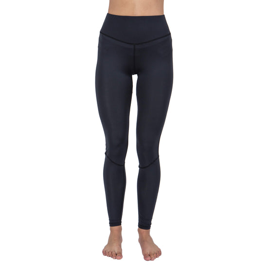Fourth Element Women's Ocean Positive Hydro Leggings | Black / Front | Mike's Dive Store