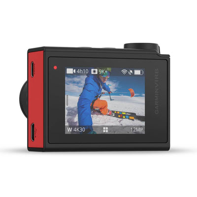 Garmin VIRB Ultra 30 Action Camera - Back - Mike's Dive Store