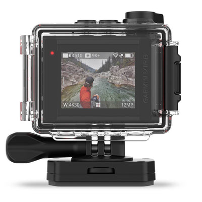 Garmin VIRB Ultra 30 Action Camera - Housing Back - Mike's Dive Store