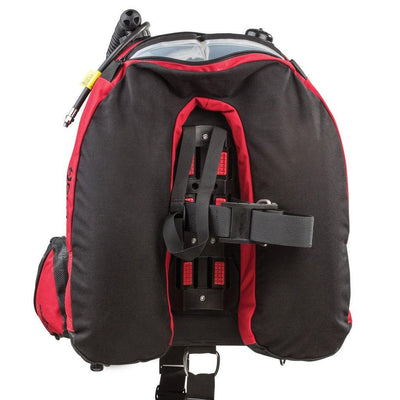 Hollis HD 200 BCD - Back - Mike's Dive Store