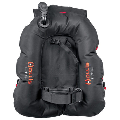 Hollis LTS BCD - Back - Mike's Dive Store
