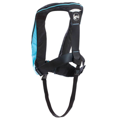 KRU Sport Lifejacket - Sky Blue / Carbon Back - Mike's Dive Store