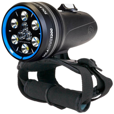 Light and Motion Sola Dive 1200 Torch - Mike's Dive Store