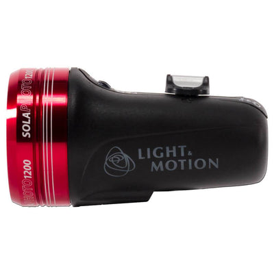 Light and Motion Sola Photo 1200 Light - Side - Mike's Dive Store
