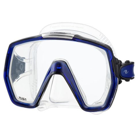 Tusa Freedom HD Dive Mask - Cobalt Blue - Mike's Dive Store
