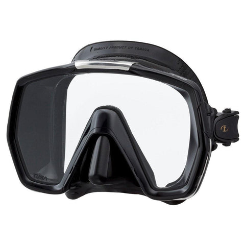 Tusa Freedom HD Dive Mask - Black / Black - Mike's Dive Store
