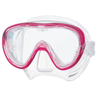 Tusa Freedom Tina Dive Mask - Bright Pink - Mike's Dive Store