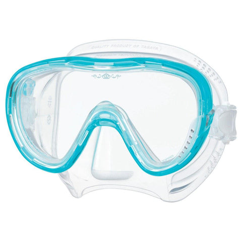 Tusa Freedom Tina Dive Mask - Light Blue - Mike's Dive Store