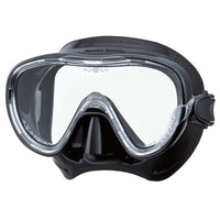Tusa Freedom Tina Dive Mask - Black / Black - Mike's Dive Store