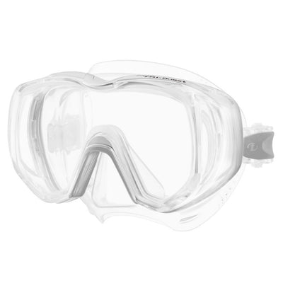 Tusa Freedom Tri-Quest Dive Mask - Transparent - Mike's Dive Store