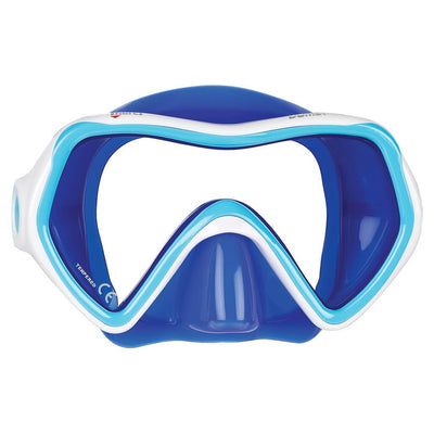 Mares Comet Kids Mask - Blue / White - Mike's Dive Store