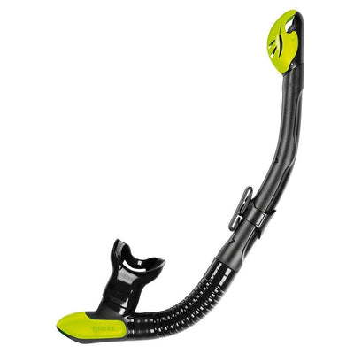 Mares Ergo Dry Snorkel - Black / Lime - Mike's Dive Store