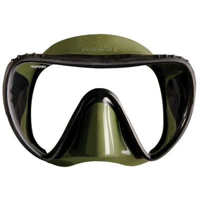 Mares Essence Liquidskin SF Mask - Green - Mike's Dive Store