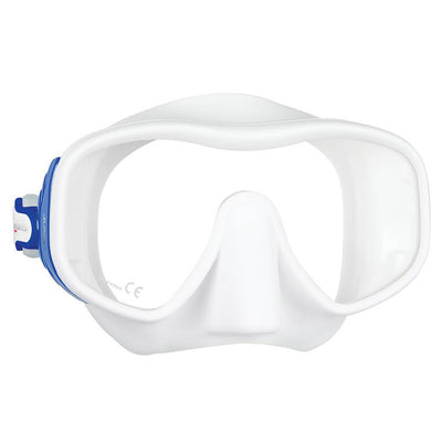 Mares Juno Mask - Blue / White - Mike's Dive Store
