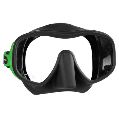 Mares Juno Mask - Lime / Black - Mike's Dive Store