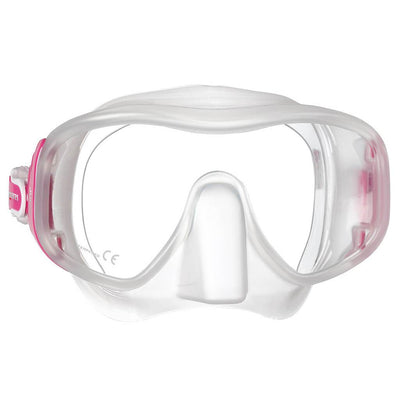 Mares Juno Mask - Pink / Clear - Mike's Dive Store