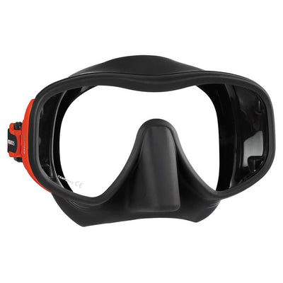 Mares Juno Mask - Red / Black - Mike's Dive Store
