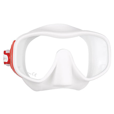 Mares Juno Mask - Red / White - Mike's Dive Store