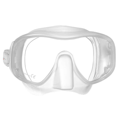 Mares Juno Mask - White / Clear - Mike's Dive Store