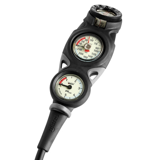 Mares Mission 3 Console with Depth, Pressure and Compass - Mike's Dive Store