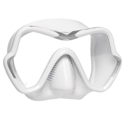 Mares One Vision Sunrise Dive Mask - White / Silver - Mike's Dive Store