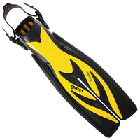 Mares Raptor Fins - Yellow - Mike's Dive Store