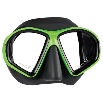Mares Sealhouette Mask - Lime / Black - Mike's Dive Store