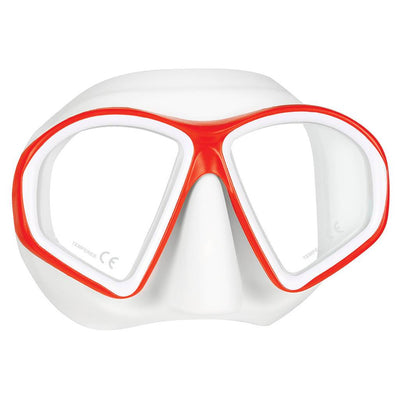 Mares Sealhouette Mask - Red / White - Mike's Dive Store