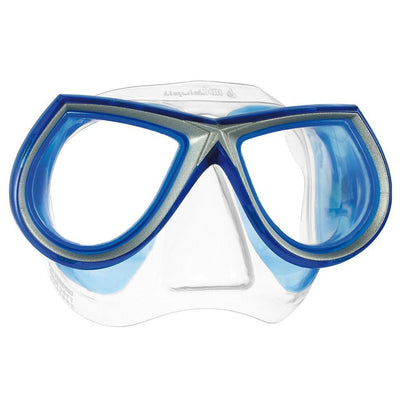 Mares Star LiquidSkin Dive Mask - Clear / Blue - Mike's Dive Store