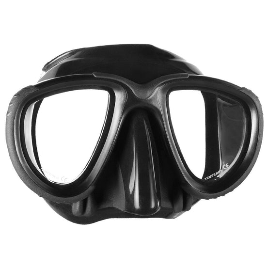 Mares Tana Freediving Mask - Black - Mike's Dive Store