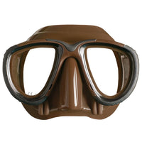 Mares Tana Freediving Mask - Brown - Mike's Dive Store