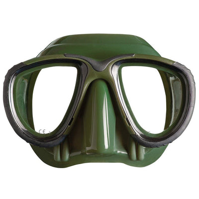 Mares Tana Freediving Mask - Green - Mike's Dive Store