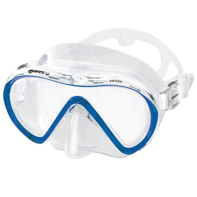 Mares Vento Snorkelling Mask - Blue - Mike's Dive Store