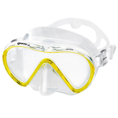 Mares Vento Snorkelling Mask - Yellow - Mike's Dive Store