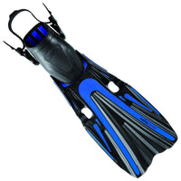 Mares Volo Power Fins - Blue - Mike's Dive Store