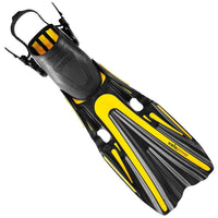 Mares Volo Power Fins - Yellow - Mike's Dive Store