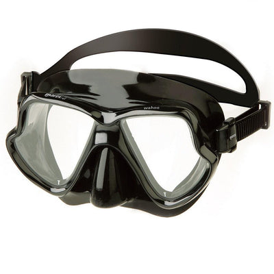 Mares Wahoo Dive Mask - Black - Mike's Dive Store