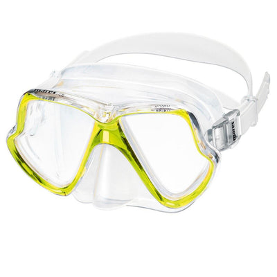 Mares Wahoo Dive Mask - Yellow - Mike's Dive Store