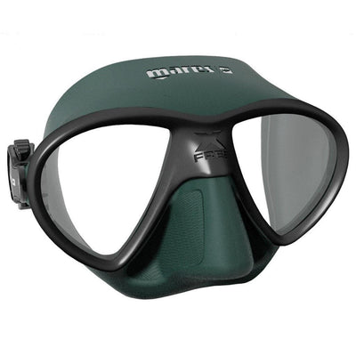 Mares X-Free Mask - Green - Mike's Dive Store