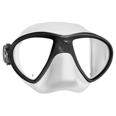 Mares X-Free Mask - White / Black - Mike's Dive Store