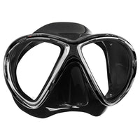 Mares X-Vu Dive Mask - Black / Black - Mike's Dive Store