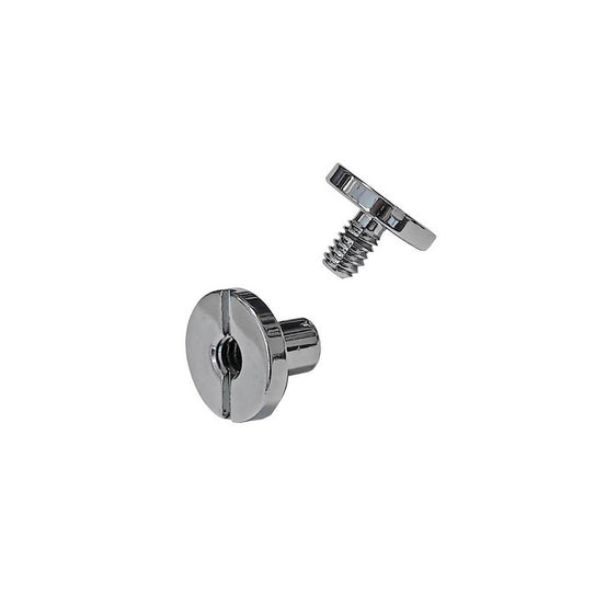 Mares XR Deadbolt Screw Flat - Chrome - Mike's Dive Store