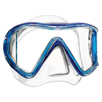 Mares i3 Dive Mask - Clear / Blue - Mike's Dive Store