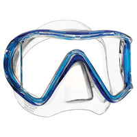Mares i3 Sunrise Dive Mask - Clear / Blue - Mike's Dive Store