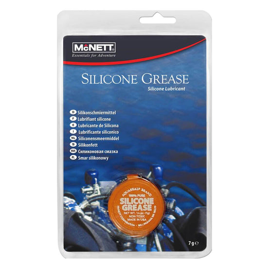 McNett 100% Pure Silicone Grease 7ml - Mike's Dive Store