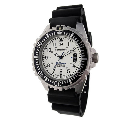 Momentum M-Ocean Watch - White - Mike's Dive Store