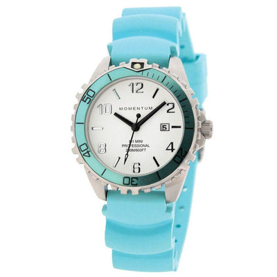 Momentum M1 Mini Watch - Aqua - Mike's Dive Store